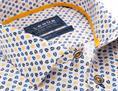 Ledub overhemd 0137793 in het Wit/Geel