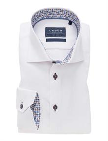Ledub overhemd 0138639 in het Wit/Blauw