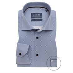 Ledub overhemd 0139133 in het Donker Blauw