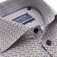 Ledub overhemd 0139165 in het Bruin