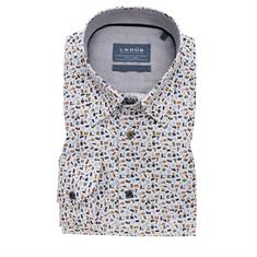 Ledub overhemd 0139315 in het Groen