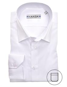Ledub overhemd 0315502 in het Wit