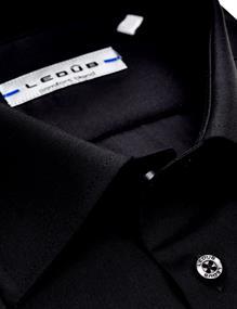 Ledub overhemd 0315502 in het Zwart
