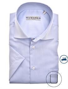 Ledub overhemd 0323008 in het Licht Blauw