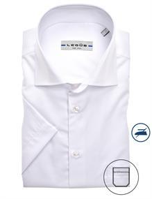 Ledub overhemd 0323008 in het Wit