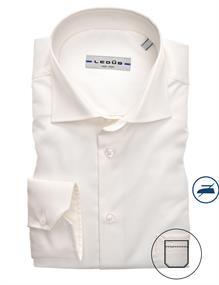 Ledub overhemd 0323508 in het Ecru