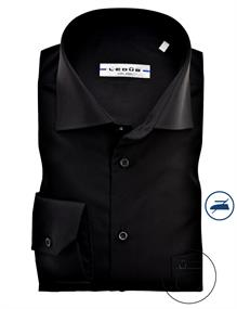 Ledub overhemd 0323508 in het Zwart
