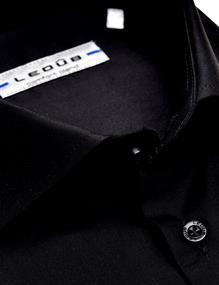 Ledub overhemd 0323702 in het Zwart