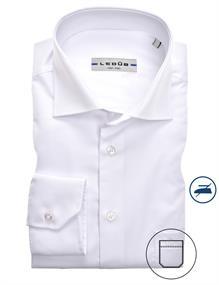 Ledub overhemd 0323708 in het Wit