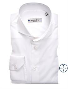 Ledub overhemd 0326510 in het Wit