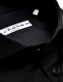 Ledub overhemd 0326510 in het Zwart