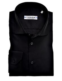 Ledub overhemd 0343512 in het Zwart