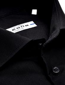 Ledub overhemd 0343518 in het Zwart