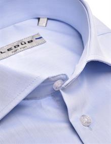 Ledub overhemd 0343718 in het Licht Blauw