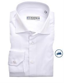 Ledub overhemd 0343718 in het Wit