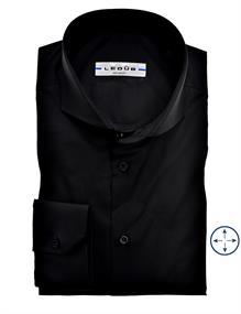 Ledub overhemd 0346510 in het Zwart