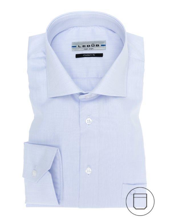 Ledub overhemd Modern Fit 0023528 in het Roze