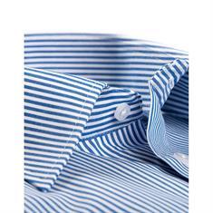 Ledub overhemd Modern Fit 0024725 in het Kobalt