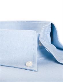 Ledub overhemd Regular Fit 0012530 in het Licht Blauw