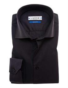 Ledub overhemd Tailored Fit 0033528 in het Zwart