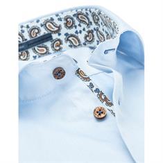Ledub overhemd Tailored Fit 0136710 in het Licht Blauw