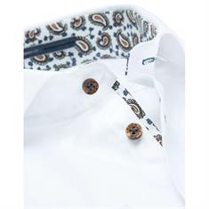 Ledub overhemd Tailored Fit 0136710 in het Wit
