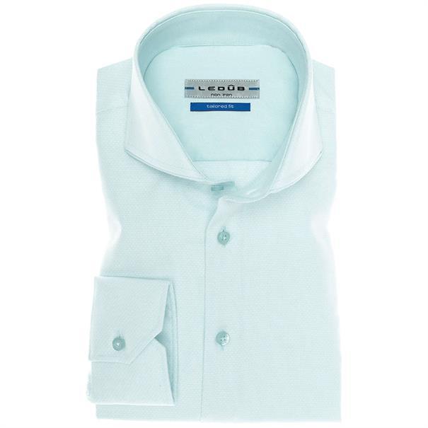 Ledub overhemd Tailored Fit 0136790 in het Mint Groen