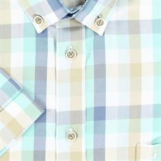 Ledub overhemd Tailored Fit 0136908 in het Multicolor