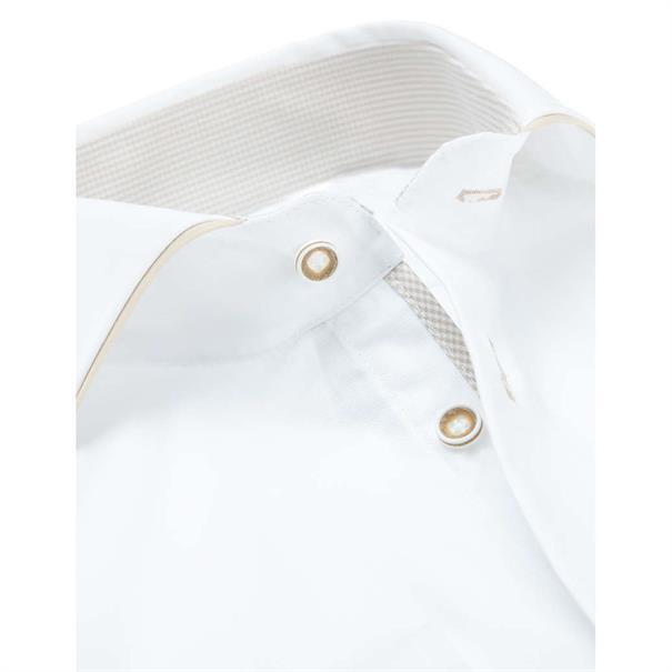 Ledub overhemd Tailored Fit 0137023 in het Geen kleur