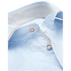 Ledub overhemd Tailored Fit 0137023 in het Licht Blauw