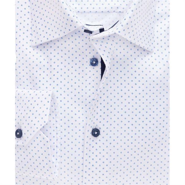 Ledub overhemd Tailored Fit 0137119 in het Geen kleur