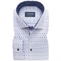 Ledub overhemd Tailored Fit 0137296 in het Geel