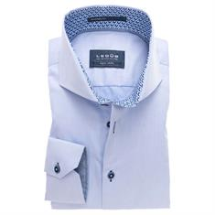 Ledub overhemd Tailored Fit 0137356 in het Licht Blauw