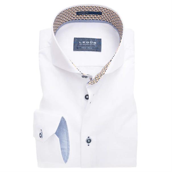Ledub overhemd Tailored Fit 0137356 in het Multicolor
