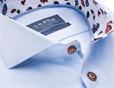 Ledub overhemd Tailored Fit 0138456 in het Licht Blauw