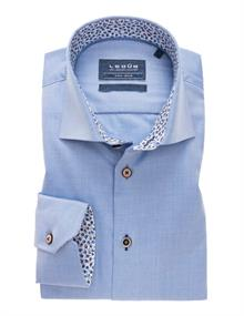 Ledub overhemd Tailored Fit 0138955 in het Blauw