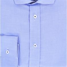 Ledub overhemd Tailored Fit 0511112 in het Licht Blauw