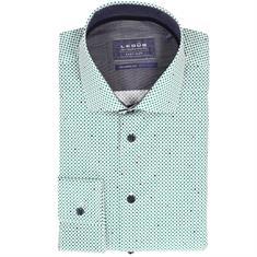 Ledub overhemd Tailored Fit 0511118 in het Groen