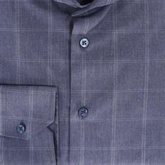 Ledub overhemd Tailored Fit 0511140 in het Blauw