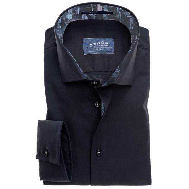 Ledub overhemd Tailored Fit 0511148 in het Zwart