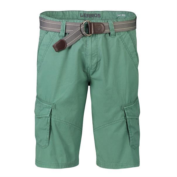 Lerros cargo short 2039210 in het Mint Groen