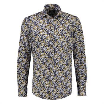 Lerros casual overhemd Regular Fit 2081354T in het Geel