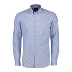 Lerros casual overhemd Regular Fit 29d1111 in het Licht Blauw