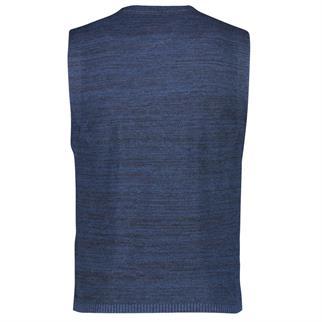 Lerros gilet Regular Fit 2985616 in het Blauw