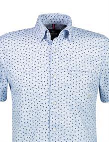 Lerros overhemd 2132468 in het Licht Blauw