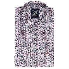 Lerros overhemd 2971123t in het Paars