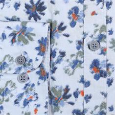 Lerros overhemd Modern Fit 29d1115 in het Licht Blauw