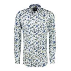 Lerros overhemd Modern Fit 29d1115 in het Wit