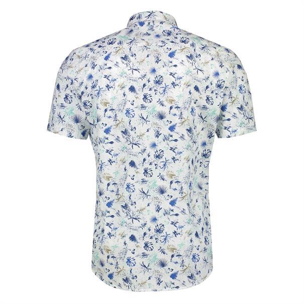 Lerros overhemd Regular Fit 2032062 in het Blauw