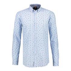 Lerros overhemd Regular Fit 29n1187 in het Licht Blauw